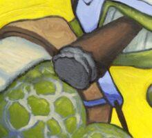 The Silver Turtle Sticker