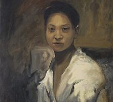 Portrait of a Chinese lady by Daniel Rodgers