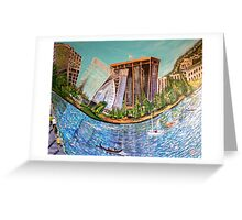 Oakland Jewel Design By Octavious Sage  Greeting Card