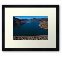 Dartmouth Dam Framed Print