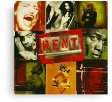 RENT The Musical  Canvas Print