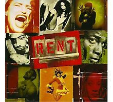 RENT The Musical  Photographic Print