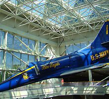 Blue Angels Jet #4 by Wanda Raines