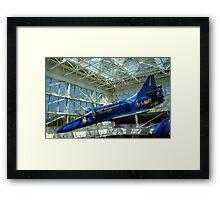 Blue Angels Jet #4 Framed Print