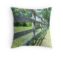 Fence II Throw Pillow