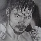 Manny Pacqiau Boxing champ by perfectpencil