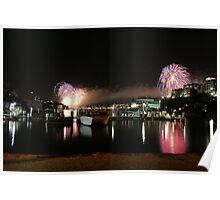 6_Fireworks Sydney Harbour New Years Eve 2008 Poster