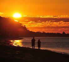 Sunset Couple by samhicks