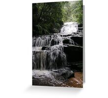 Leura (vertical) Greeting Card