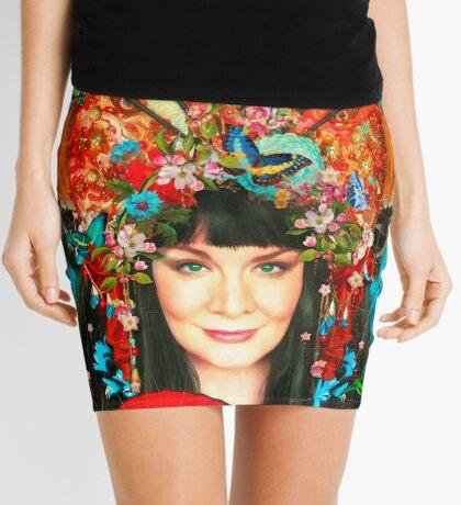 Self Mini Skirt