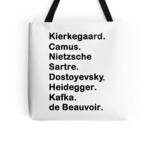 Existentialist Tote Bag