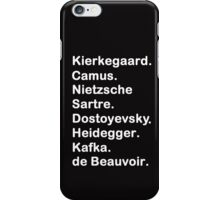 Existentialist 2 iPhone Case/Skin