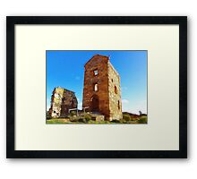 Harveys Engine House Framed Print