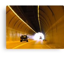 Tunnel Canvas Print