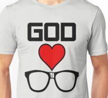 God Loves Nerds Unisex T-Shirt