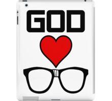 God Loves Nerds iPad Case/Skin
