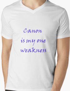 Weakness Mens V-Neck T-Shirt
