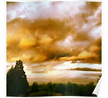 Gilted Skies Poster