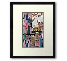 Shutter At The Thought Framed Print