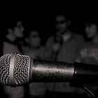 united by a mic by Michael Dunn