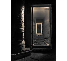 'Dark days, dark ways' Photographic Print