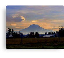 Mt. Rainier-1 Canvas Print