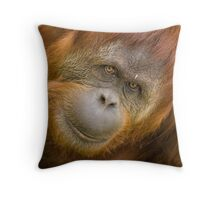 Sumatran Orang-utan Throw Pillow