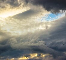 Angry clouds.. by 7acek