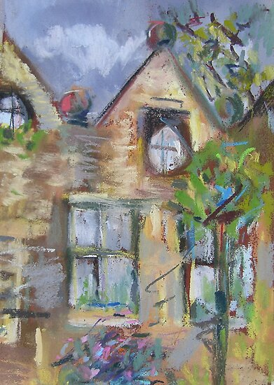 East Riddlesden Hall from the Garden by Susan Duffey