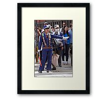 Who Is That Masked Man? Framed Print