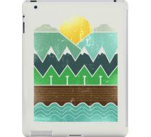 Minimal nature iPad Case/Skin