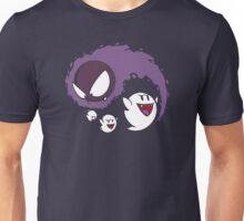 Ghostly Yin & Yang Unisex T-Shirt
