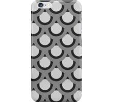 Monochrome Circles iPhone Case/Skin