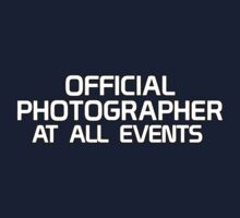Official Photographer - At All Events Kids Clothes