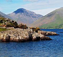Wast Water and Great Gable by WatscapePhoto