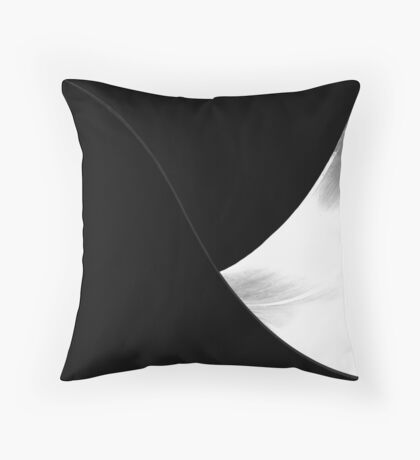 Curvy Throw Pillow