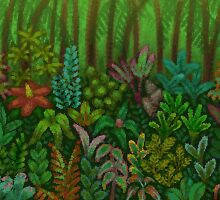 Paper Jungle by spriteastic