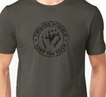 twisted wheels: keep the faith Unisex T-Shirt