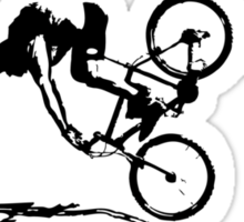 twisted wheels: crash Sticker