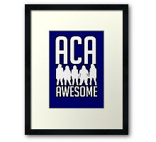 ACA-AWESOME Framed Print