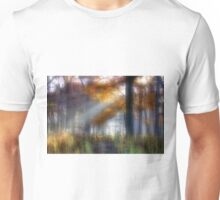Foggy Morn' in the Forest Unisex T-Shirt