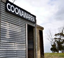Old Coonawarra Train Station by Catherine C.  Turner