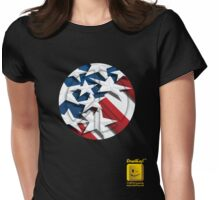 Stars n' Stripes ... Peace Womens Fitted T-Shirt