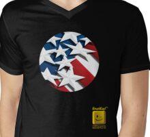 Stars n' Stripes Mens V-Neck T-Shirt