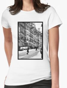 crossing Womens Fitted T-Shirt