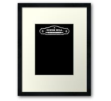 Dixon Hill, Private Investigator - White Framed Print