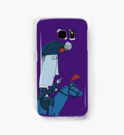 Napoleon and his Horse Samsung Galaxy Case/Skin