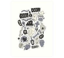 Doom & Gloom Alternative Art Print