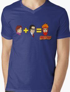 Firestorm Addition Mens V-Neck T-Shirt