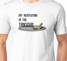 Trigger White Unisex T-Shirt